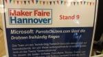 Microsoft presents ParrotsOnJava.com at the Maker Faire 2014