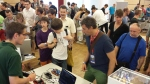 Visitors were really interested in gesture control technology.